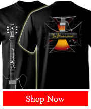 Joe Bonamassa JB Iron Cross Tee