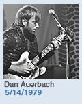 Birthdays: Dan Auerbach: 5/14/1979